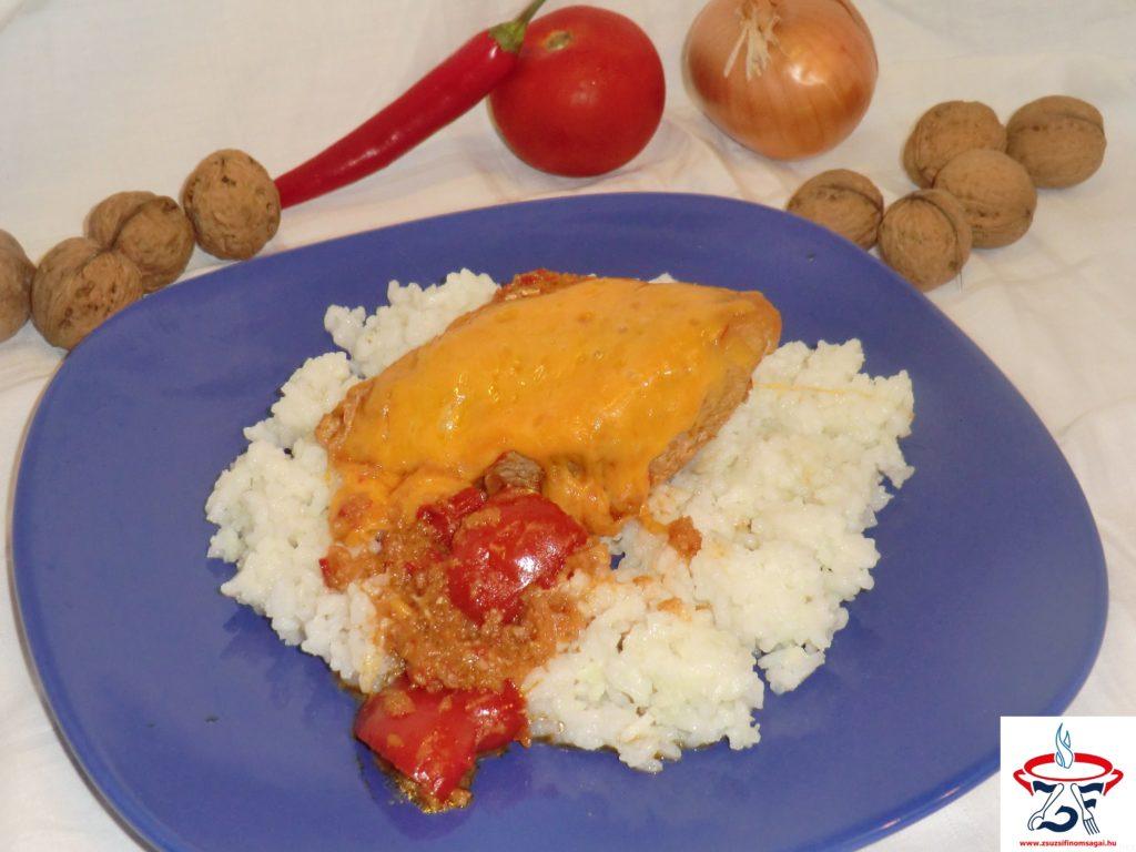 Csípős mexikói csirke