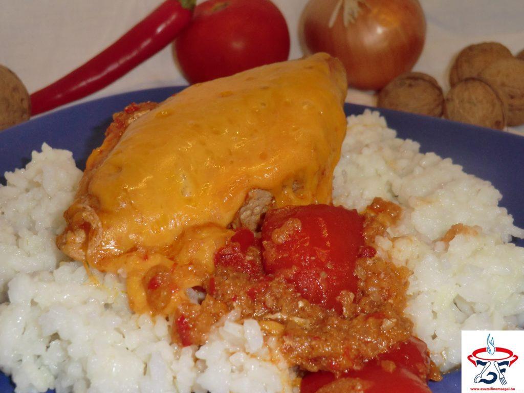 Csípős mexikói csirke2