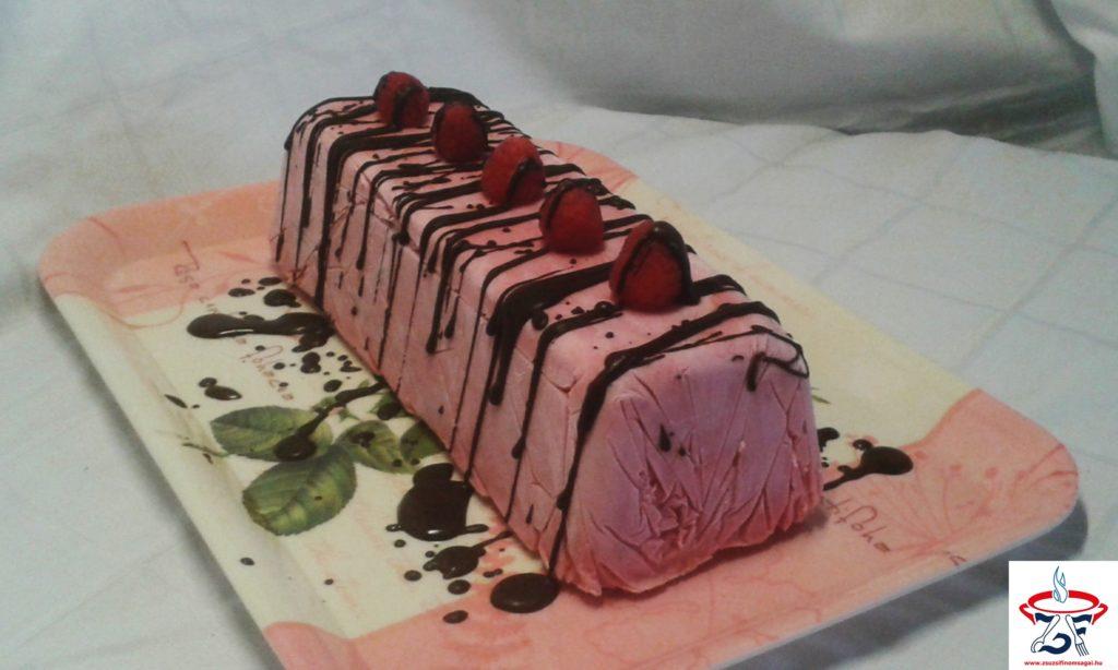 Málnás parféalagút csokoládélapokkal