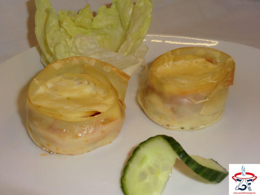 Lasagne muffin