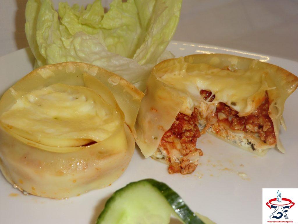 Lasagne muffin1