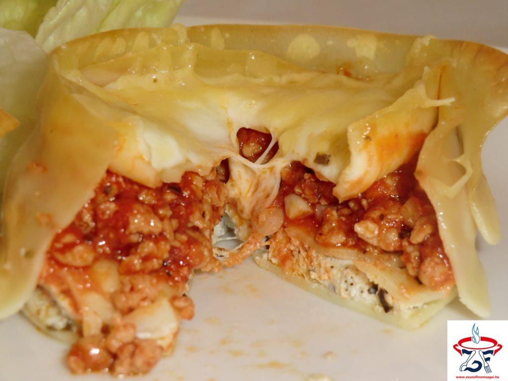Lasagne muffin2