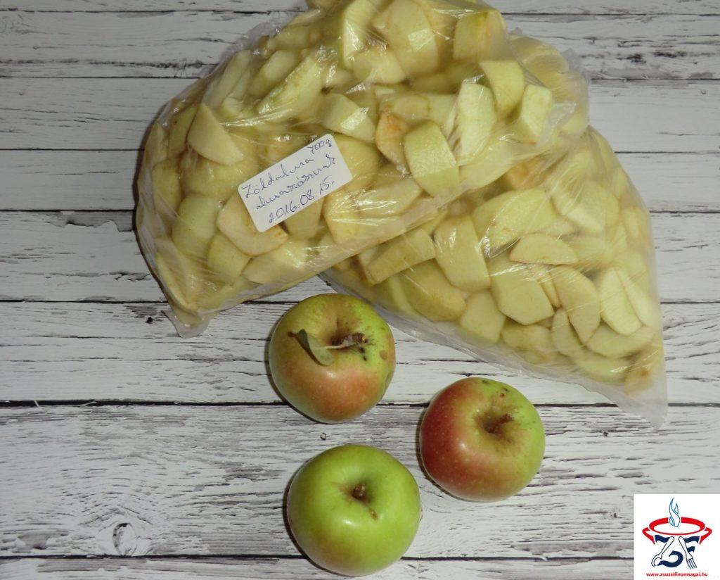 Fagyasztott alma1