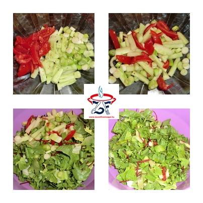 Vegyes saláta fetasajttal 1