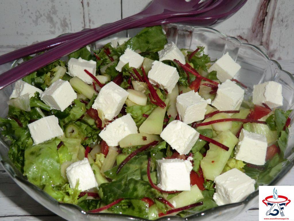 Vegyes saláta fetasajttal2